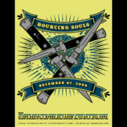 Bouncing Souls Knives Screen Printed Poster-0