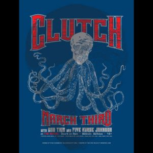 Clutch Screen Printed Poster -0
