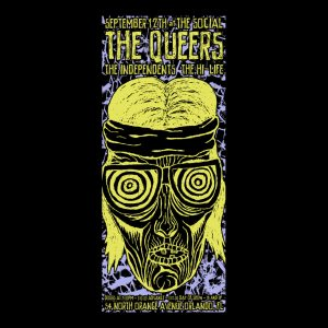 The Queers Screen Printed Poster -0