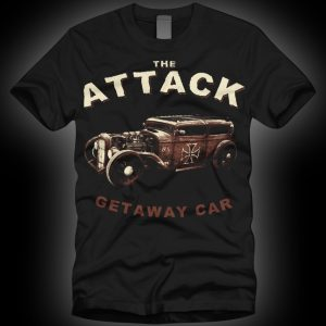 4 - The Attack Getaway Car T-shirt-0