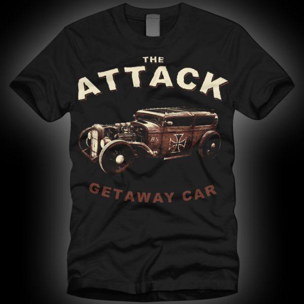 4 – The Attack Getaway Car T-shirt-0