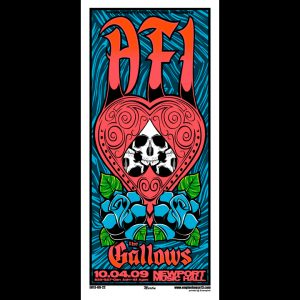 AFI screen printed poster-0