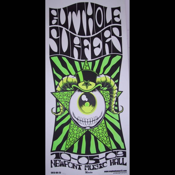 Butthole Surfers screen printed poster-0