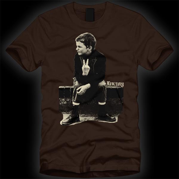 Enemy FU Kid t-shirt -0