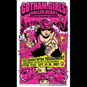 Gotham Girls screen printed poster-0