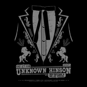 Unknown Hinson screen printed poster-0