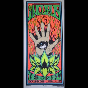 Incubus screen printed poster-0