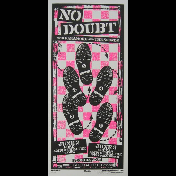 No Doubt screen printed poster-0