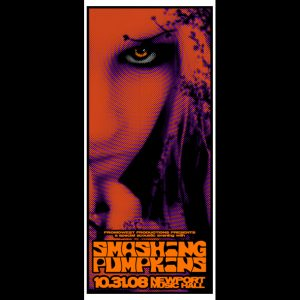 Smashing Pumpkins screen printed poster-0