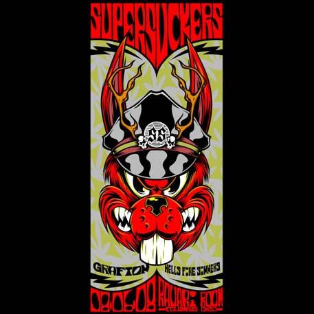 Supersuckers screen printed poster-0