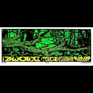 Sword/Torche screen printed poster-0