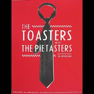 The Toasters/Pietasters screen printed poster-0