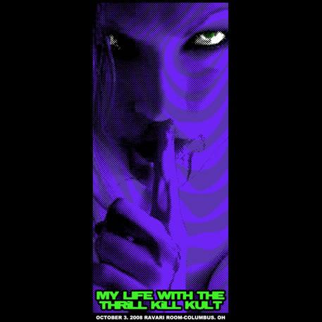 Thrill Kill Kult screen printed poster-0