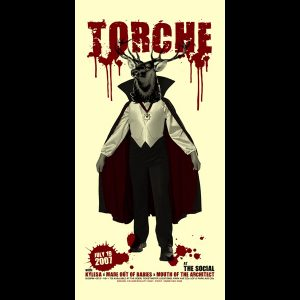 Torche Screen Printed poster-0