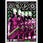 Devo Screen Printed Poster-0