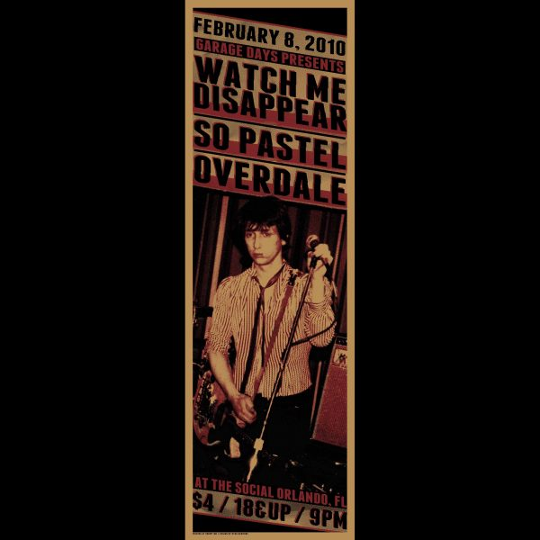 Overdale Screen Printed Poster -0
