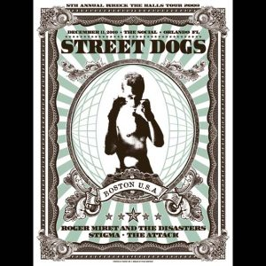 Street Dogs Screen Printed Poster-0