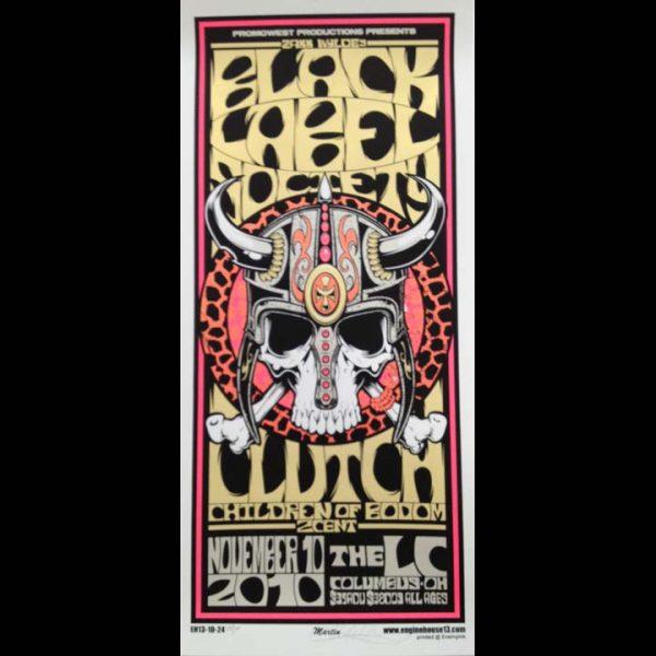Black Label Society Screen Printed Poster-0