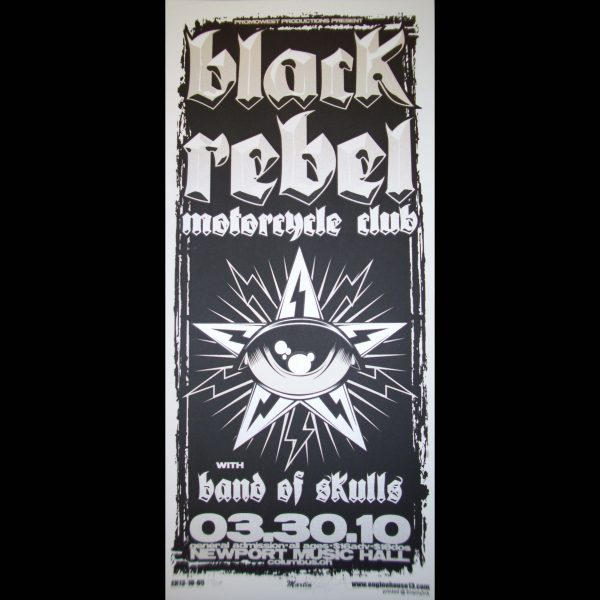 Black Rebel Motorcycle Club Poster-0