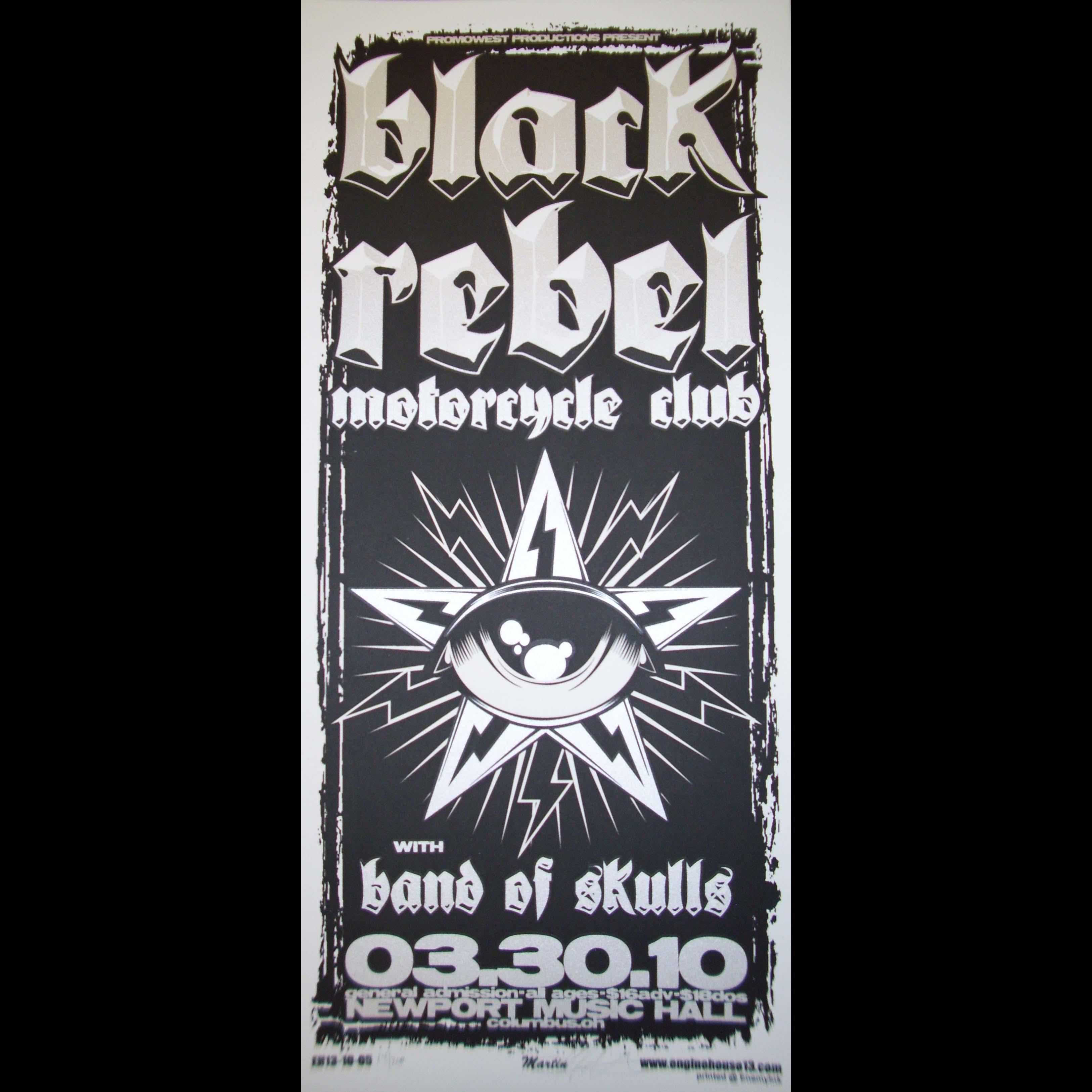 T shirt black rebel motorcycle club - Black Rebel Motorcycle Club Poster 0