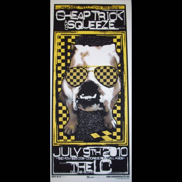 Cheap Trick screen printed poster-0
