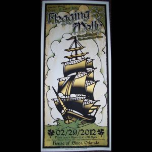 Flogging Molly Leap Year show poster-0