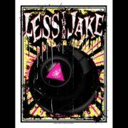Less Than Jake 20th Anniversary Poster Designed by Ryan Rawtone-0
