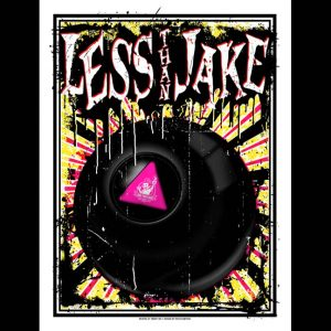Less Than Jake 20th Anniversary Poster Designed by Ryan Rawtone-0