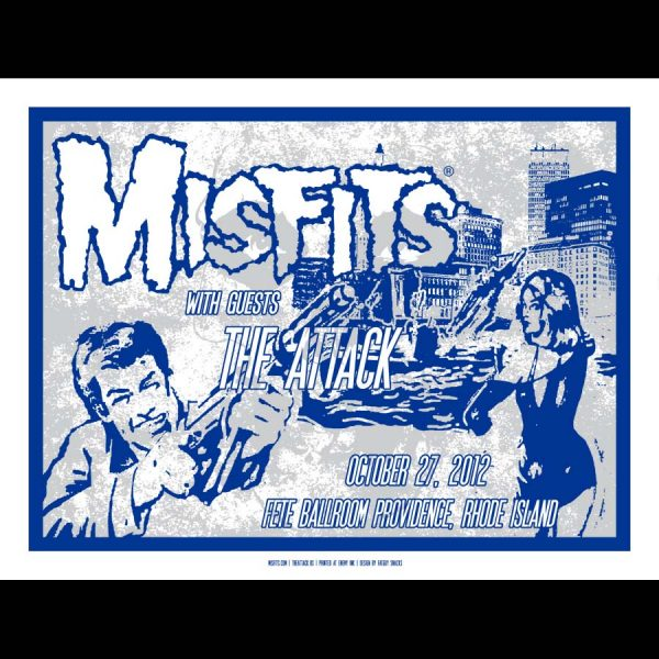 Misfits Providence Poster 2012-0
