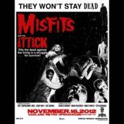Misfits Oakland 2012 Screen Printed Poster-0