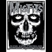 Misfits Seattle 2012 Screen Printed Poster-0