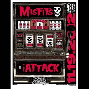 Misfits and The Attack Vegas 2012 Poster-0