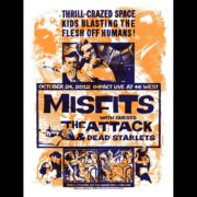 Misfits Barrie Ontario 2012 Screen Printed Poster-0