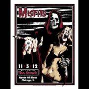 Misfits Chicago 2012 Screen Printed Poster-0