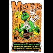 Misfits New York City Halloween 2012 Poster-0