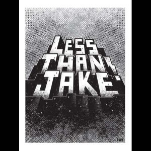 Less Than Jake 20th Anniversary Poster Designed by PW!-0