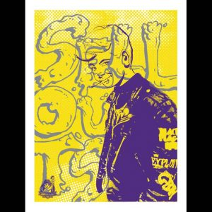 Less Than Jake 20th Anniversary Poster designed by Waxfang-0