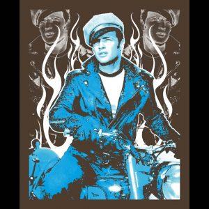 Enemy Wild One Brando Art Print-0