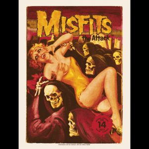 Misfits Miami 2013 screen printed poster-0