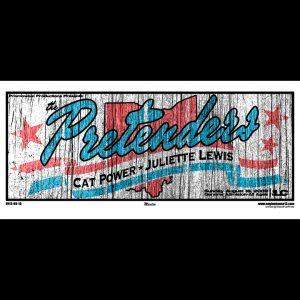 The Pretenders screen printed posters-0