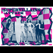 The Supervillains Daytona Beach screen printed poster-0