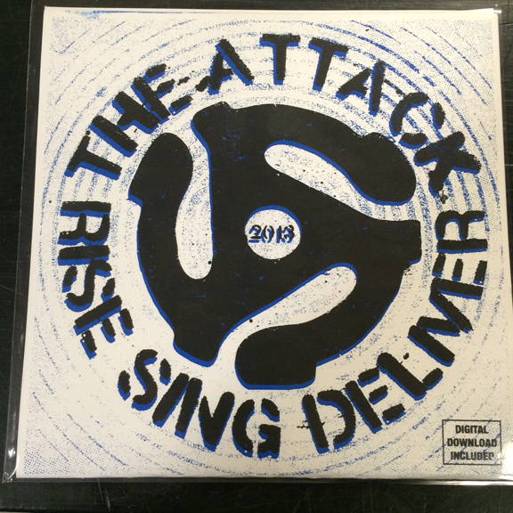 3 – The Attack (Rise Sing Deliver) 7″ EP-0