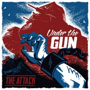 "4 - The Attack - Under the Gun 7"" EP-0"