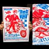 Toasters Screen Printed Tour Poster (Fall 2014)-0