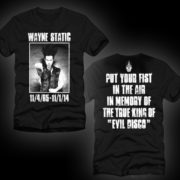 Wayne Static Memorial T Mens-292