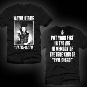 Wayne Static Memorial T Mens-0