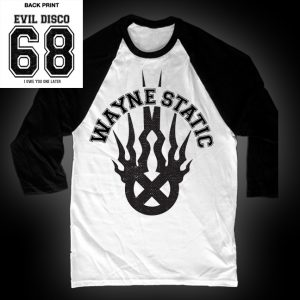 Wayne Static Baseball T-0