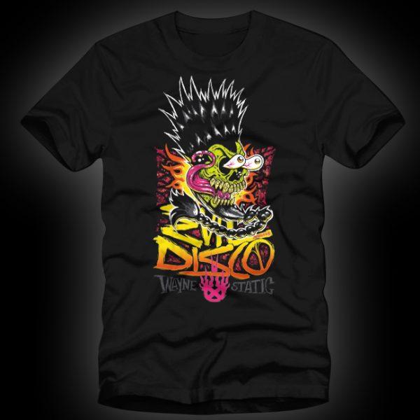 Wayne Static Evil Disco Skull Mens-0