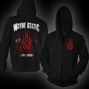 Wayne Static Stamp Zip Hoodie-0