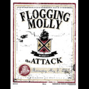 Flogging Molly St Petersburg, Fl 2015 screen printed poster-0